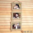 三聯相框像框卡通北歐影樓兒童婚紗可愛掛墻組合【淘夢屋】