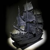 3D立體拼圖木質帆船DIY船模型拼裝套材--加勒比海盜 黑珍珠號,益智,動手-凡屋FC