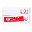 日本 sagami 相模元祖 幸福001 極致薄 5片裝 0.01mm 保險套 聚氨酯材質 非乳膠【套套先生】