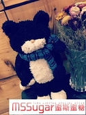 黑貓tiimo貓咪玩偶公仔可愛小貓玩具抱枕坐墊靠墊女生日禮物