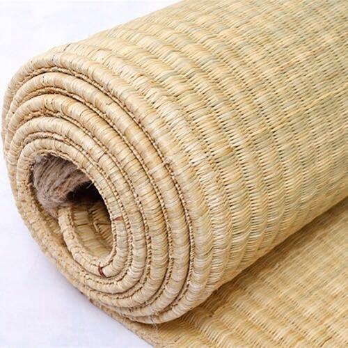 草編地毯 天然草席蘆葦席草編墊地毯加厚涼席床墊【免運直出zg】