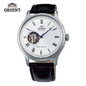 ORIENT 東方錶 SEMI-SKELETON 系列 半鏤空機械錶 皮帶款 FAG00003W 白色- 43mm