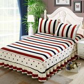 歐惠雅席夢思床罩床套床裙單件公主床蓋床單床包1.8/1.5/2.0m米床包組【樂享生活館】