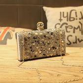 鑲鑽鏈條包-高貴奢華時尚閃亮女晚宴包3色73iy35[時尚巴黎]