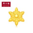 品牌:周大福珠寶 系列:迪士尼公主系列 模號:21155 金重:約0.04兩 *附贈手繩一條