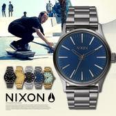NIXON A450-2065 THE Sentry 38 SS 瑞士機芯 熱賣中!