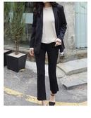 西裝外套蕾可妮斯小西裝女秋季女士西服甜美簡約外套長袖韓版修身 新年禮物