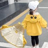 童裝女寶寶加厚外套2020新款秋冬裝女童棉衣小童加絨兒童夾棉冬裝 雙十二全館免運