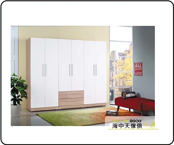 {{ 海中天休閒傢俱廣場 }} G-7 摩登時尚 衣櫥系列 43-5A 潔絲7.5尺衣櫥