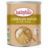 babybio 有機寶寶麥精-全穀220g