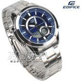 CASIO 十年電力 雙顯錶 AMW-810D-2A 防水手錶 夜光 大錶徑 世界時間 日期 AMW-810D-2AVDF 藍色