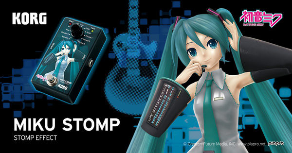 小叮噹的店- 初音未來 .日本KORG MIKU STOMP 合成器 效果器.人聲效果!公司貨