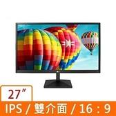 LG 樂金 27型 IPS FHD 不閃爍 螢幕顯示器 27MK430H-B