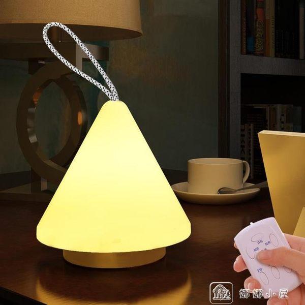 超亮LED家用應急照明手提燈戶外露營帳篷 野營燈充電小夜燈 娜娜小屋