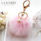 包包吊飾 韓國流行手工製作精緻甜美珍珠澎...