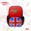 書包 UNME 英國學院風 鏡面 護脊 兒童書包 後背包 3237