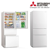 MITSUBISH 三菱 三門450L一級能變頻玻璃鏡面冰箱MR-CGX45EP ***含基本安裝***