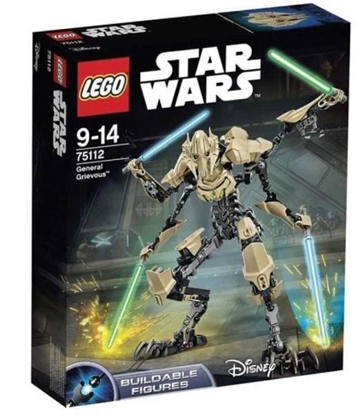 Lego 樂高 Star Wars 星戰系列 General Grievous 葛瑞費斯將軍 葛里維斯將軍 75112