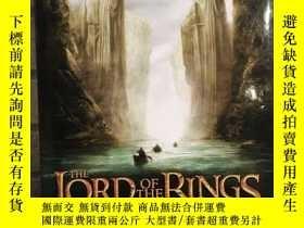 二手書博民逛書店預售指環王的藝術設定集護戒使者第一部美版The罕見Art of the Fellowship of the Rin