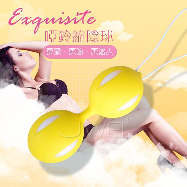 傳說情趣~ Exquisite.凱格爾多色訓練縮陰球-黃色