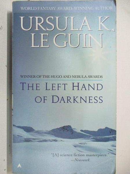 【書寶二手書T1/原文小說_ALP】The Left Hand of Darkness