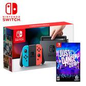 【NS 任天堂】Switch 紅藍主機+舞力全開 2018《英文版》