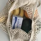 韓國ins網兜包街拍編織水果環保購物袋手提袋海邊度假沙灘漁網包 洛小仙女鞋