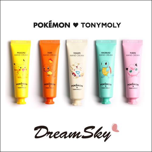 韓國 TONYMOLY x Pokemon 寶可夢 護手霜 限定 聯名款 神奇寶貝 皮卡丘 (30ml/條) DreamSky