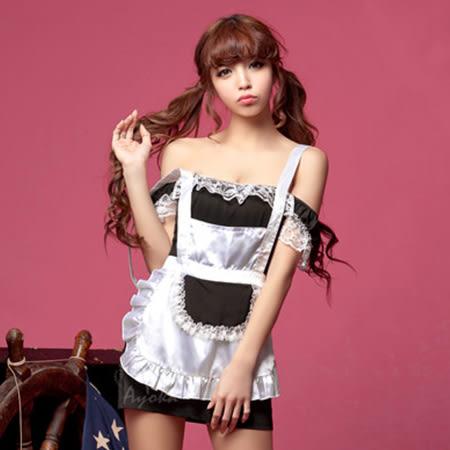 小蓋袖二件式女僕情趣角色扮演制服 情趣角色扮演 cosplaycosplay女衣閨蜜萌萌《Life Beauty》