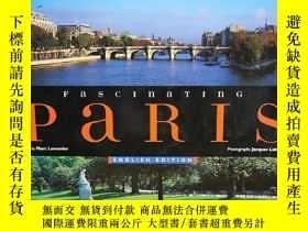 二手書博民逛書店迷人巴黎罕見大型畫冊 Fascinating Paris (法國
