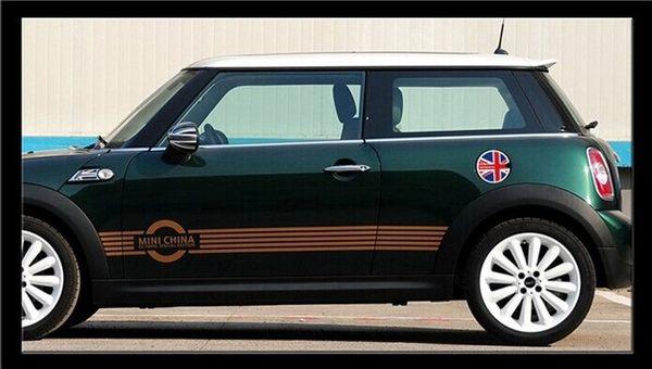 MINI 油箱貼 mini COOPER 油箱貼拉花 貼紙 裝飾車貼R53 R56 R58 COUNTRY MEN 沂軒精品 A0063