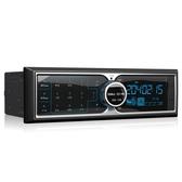 車載收音機 汽車貨車挖機藍牙MP3播放器12V24V觸屏插卡主機 快速出貨