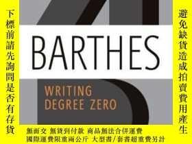 二手書博民逛書店Writing罕見Degree ZeroY255562 Roland Barthes Hill And Wan