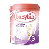法國Babybio 新幼兒成長配方3 生機放牧牛OPTIMA(800g)[衛立兒生活館]