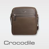 Crocodile Crocodile Wind 2.0系列布配皮直式斜背包 0104-08002