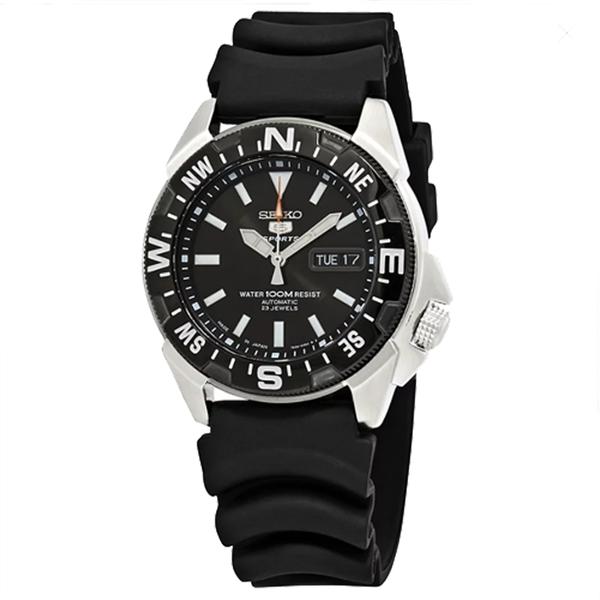SEIKO精工 手錶專賣店 國隆 SNZE81J2 潛水機械男錶 橡膠錶帶 黑 Hardlex水晶鏡面 防水100米
