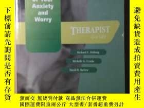 二手書博民逛書店Mastery罕見Of Your Anxiety And Worry (maw): Therapist Guide