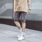 素面水洗復古牛仔短褲【YE-33007】(ROVOLETA)