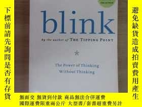 二手書博民逛書店英文書罕見blink by the author of THE