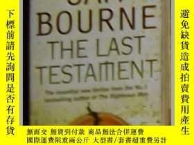 二手書博民逛書店英語原版罕見《 The Last Testament 》 Sam