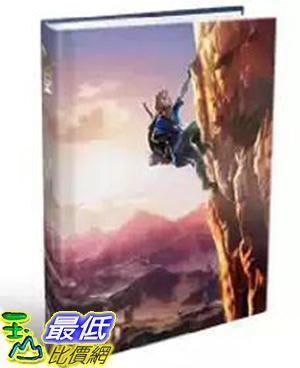 [106美國直購] 2017美國暢銷書 The Legend of Zelda:Breath of the Wild:The Complete Official Guide Collector s Edition