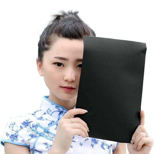 又敗家@攝影黑卡紙A4紙組(10張,磅數230g,210x290mm)硬卡紙商品攝影背景紙,降高反差高光高亮吸光