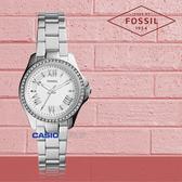 FOSSIL 手錶 專賣店 AM4576 女錶 石英錶 不鏽鋼錶帶  防水 礦石強化玻璃  全新品 保固一年 開發票