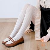 洛麗塔連褲襪絲襪襪子女復古蕾絲打底襪過膝長筒【橘社小鎮】