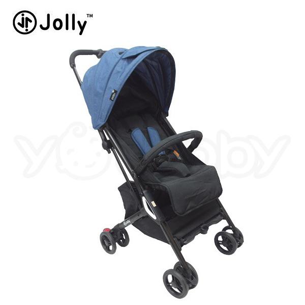 英國 JOLLY Pally 嬰兒手推車/背包車/膠囊車 -藍 (送 收納袋+肩背帶)