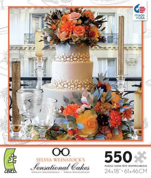 【美國 Ceaco】盒裝拼圖-Sylvia Weinstock-Cakes 2(550片)