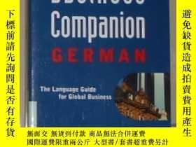 二手書博民逛書店英文原版罕見Business Companion: German