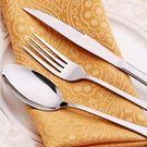 高檔西餐餐具不鏽鋼刀叉勺三件套西餐牛排刀叉套裝創意餐具【限量85折】