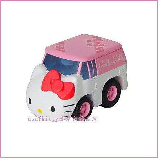 嬰童用品【asdfkitty】kitty阿Q迴力車MIX-QM02- TAKARA TOMY-正版