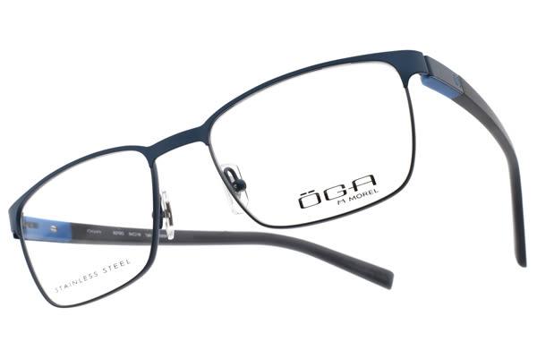 OGA 光學眼鏡 OGA8279O BG091 (深藍-黑) 氣質百搭款 # 金橘眼鏡